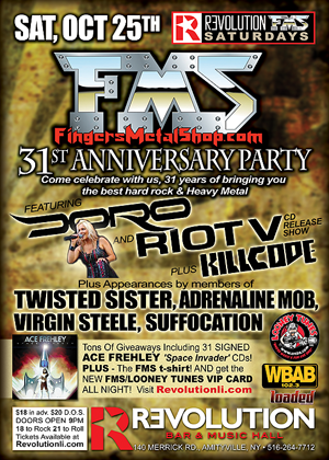Finger's Metal Shop 31st Anniversary Party